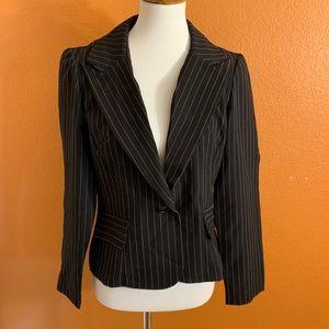 DBY | Pink & Black Pinstripe Pantsuit Set